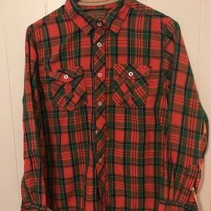 Red Camel Boys Plaid Flannel